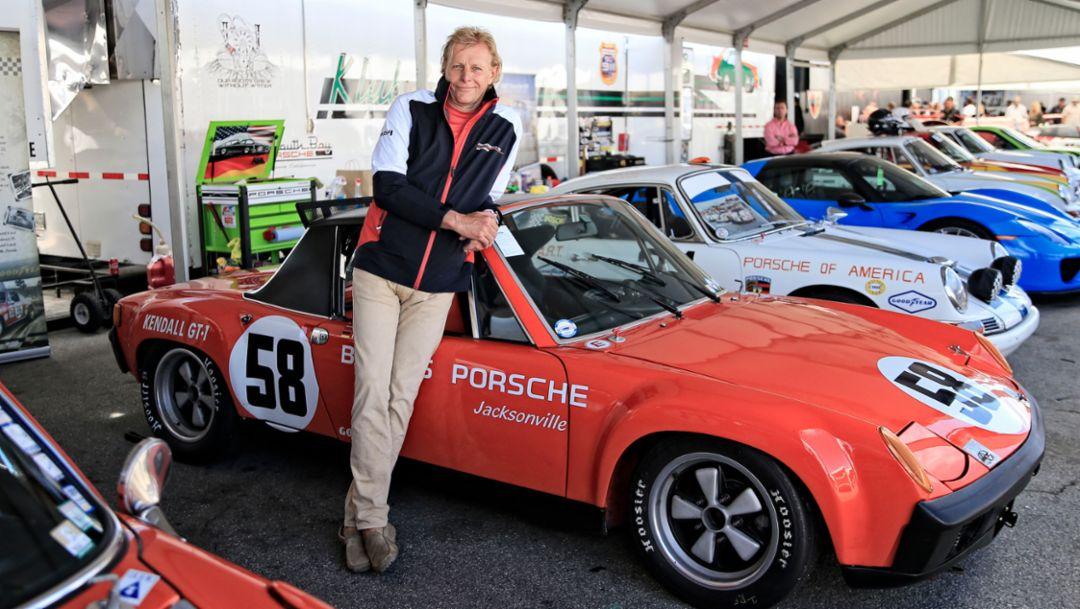 Thomas Gruber, Rennsport Reunion VI, WeatherTech Raceway Laguna Seca, California, 2018, Porsche AG