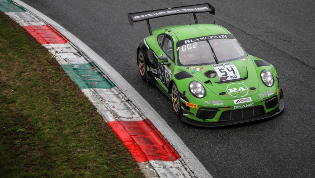 Winning weeks for Porsche customer racing vehicles