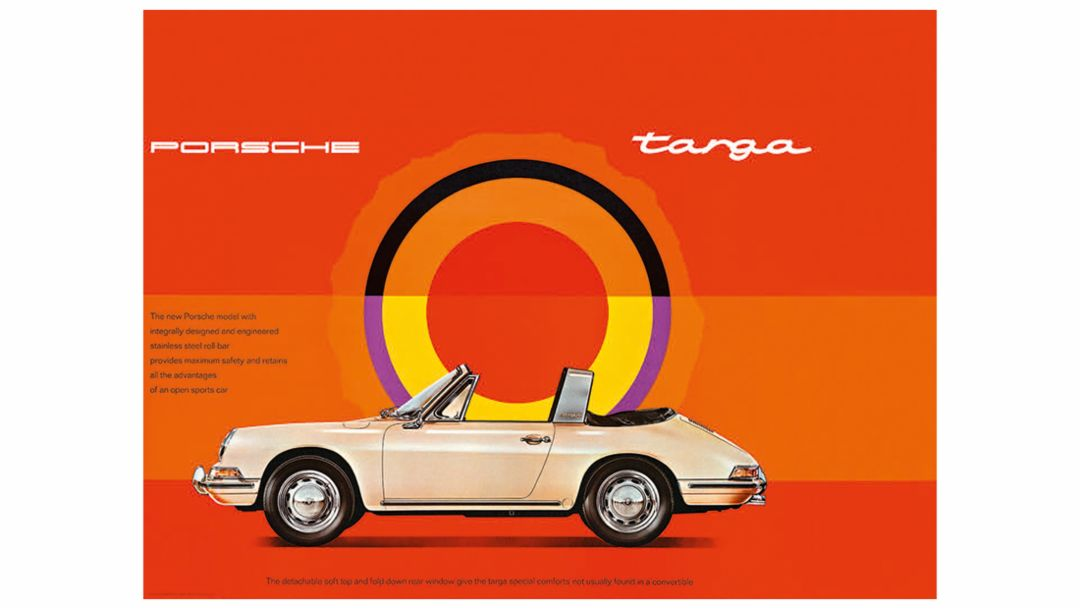 Porsche Anzeige, 1964-1969, Porsche AG