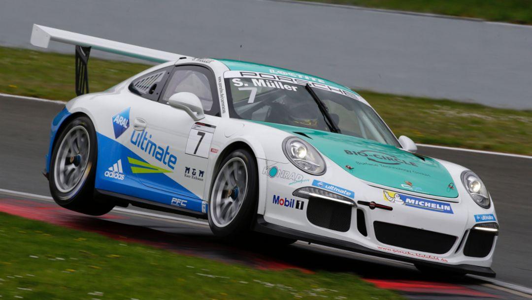 Sven Müller, 911 GT3 Cup, Porsche Carrera Cup Deutschland, Oschersleben, 2016, Porsche AG