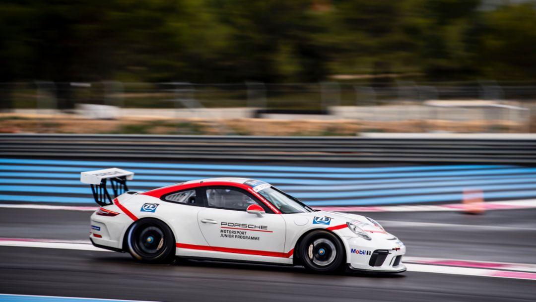 911 GT3 Cup, Porsche Junior selection process, Le Castellet, France, 2018, Porsche AG