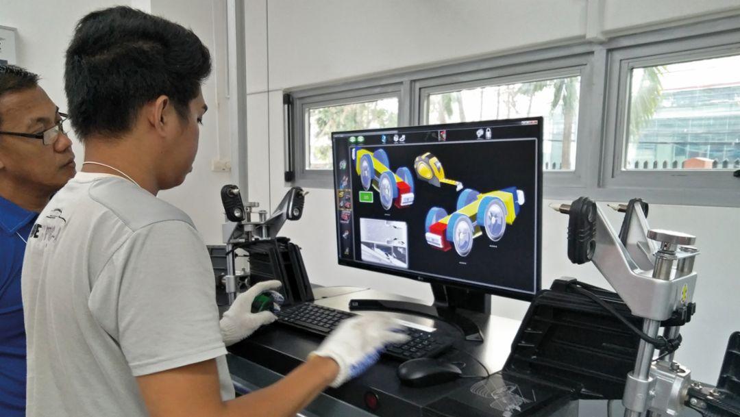 Porsche Training and Recruitment Center Manila, Philippines, 2018, Porsche AG