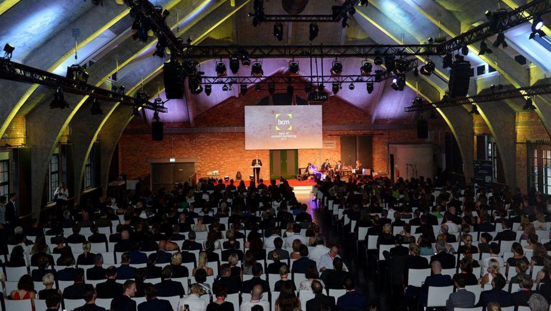 BCM Award, awards show, Berlin, 2017, Porsche AG