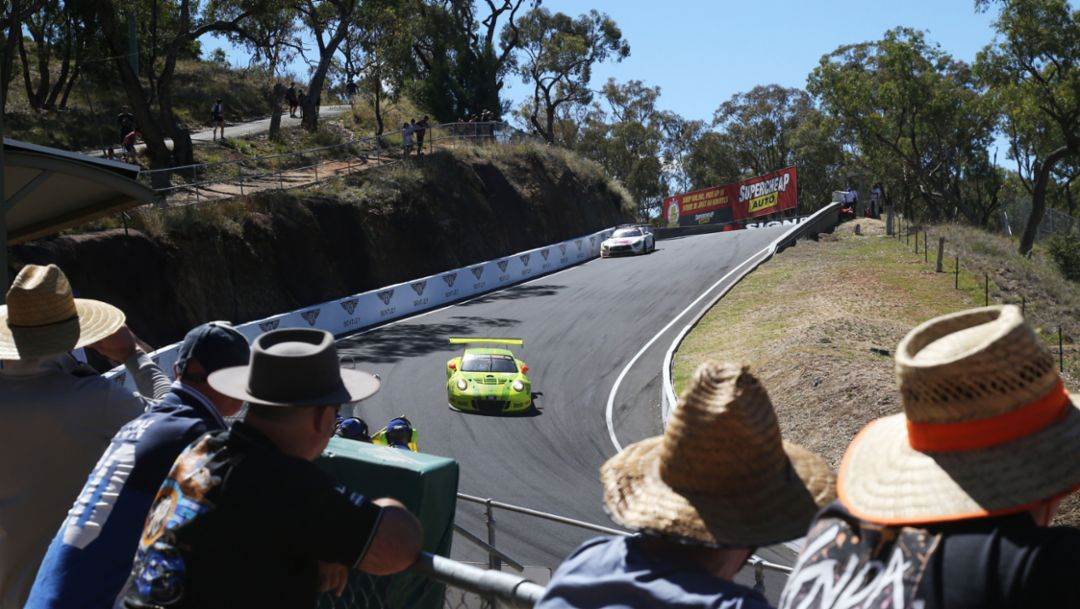 911 GT3 R, Intercontinental GT Challenge, Bathurst, 2018, Porsche AG
