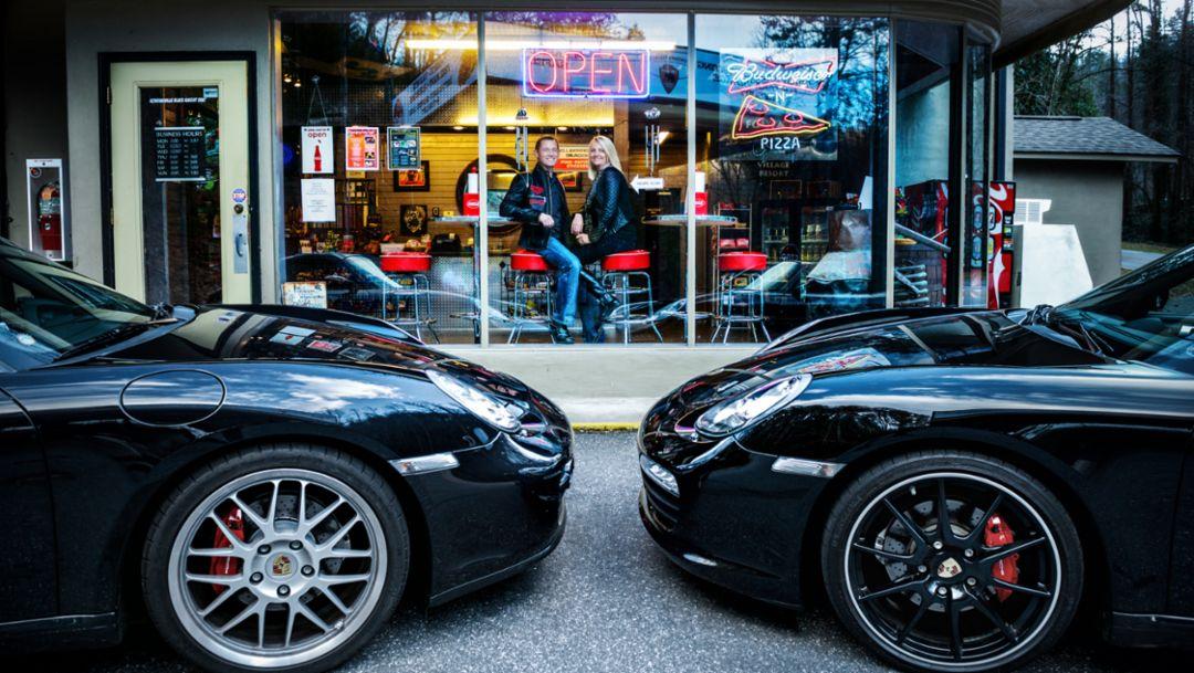 Ross Spence, Brenda Spence, Porsche Fans, Knoxville, Tennessee, 2014, Porsche AG