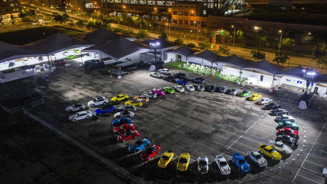 Taipei pal: Porsche celebrating out east
