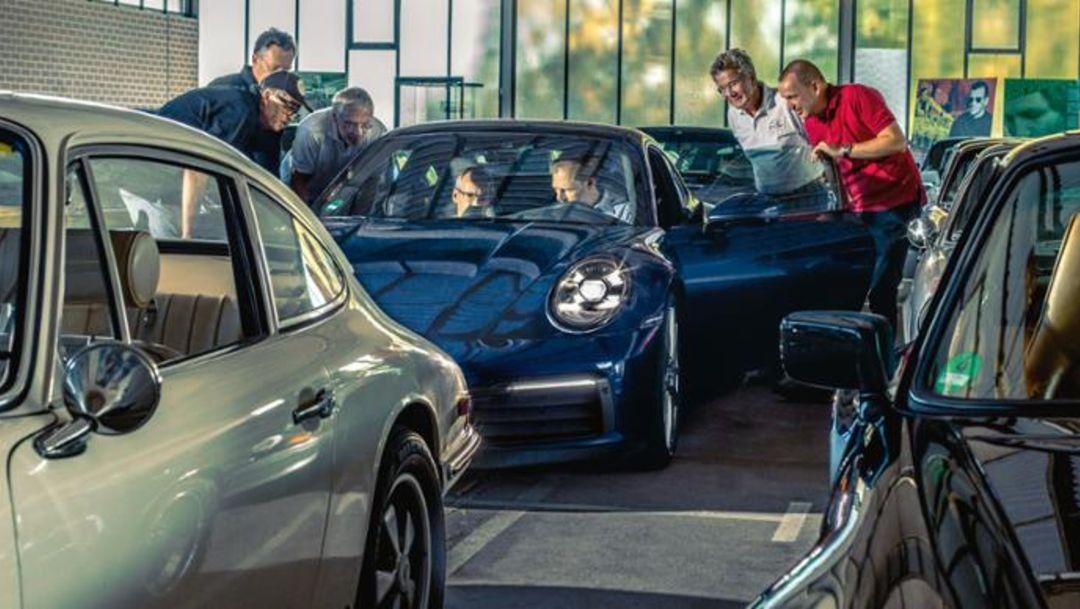 One of Us: the new Porsche 911 in Weissach