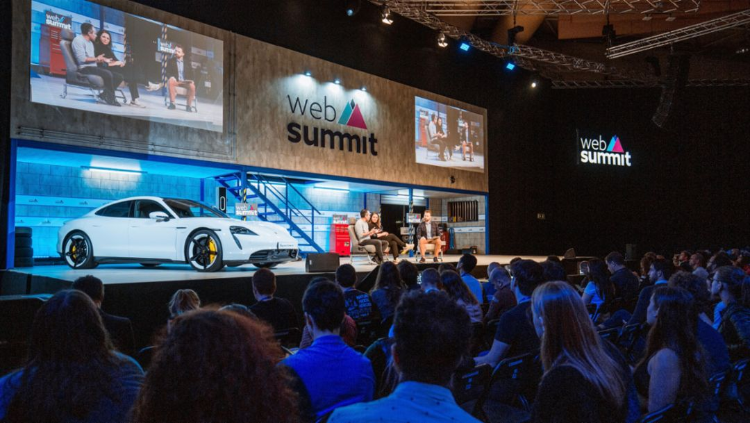 Tech Talk & Next Visions: Porsche auf dem Web Summit in Lissabon