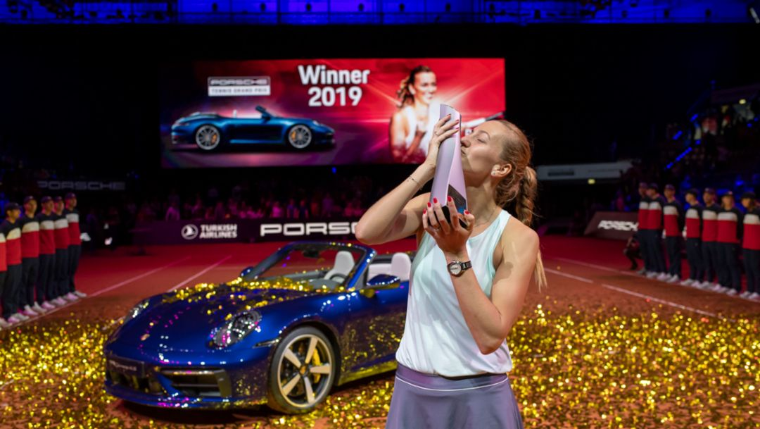 PTGP: Petra Kvitova is the new Stuttgart tennis queen