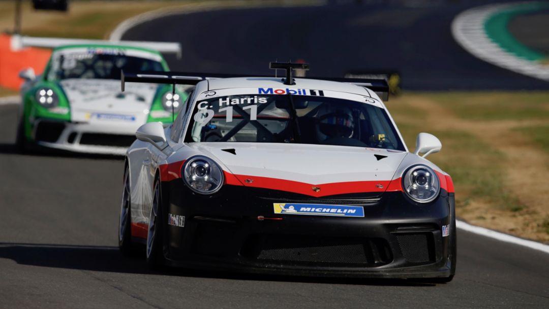 911 GT3 Cup, Porsche Mobil 1 Supercup, Silverstone, Rennen, 2018, Porsche AG