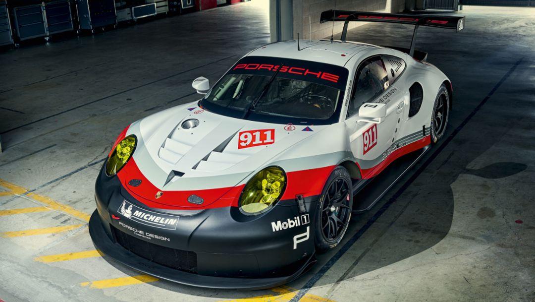 911 RSR (991) 2017 model, 2016, Porsche AG