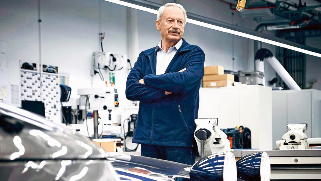 Hans Clausecker, 2017, Porsche AG