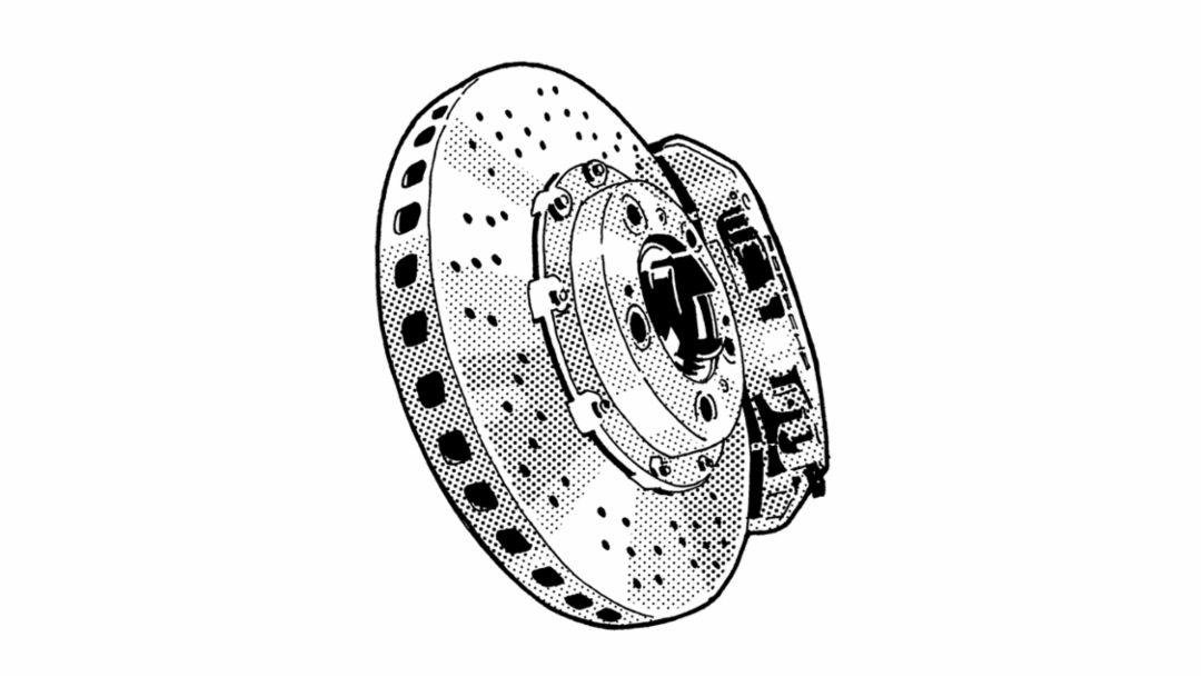 The PCCB (Porsche Ceramic Composite Brake), 2001, Porsche AG