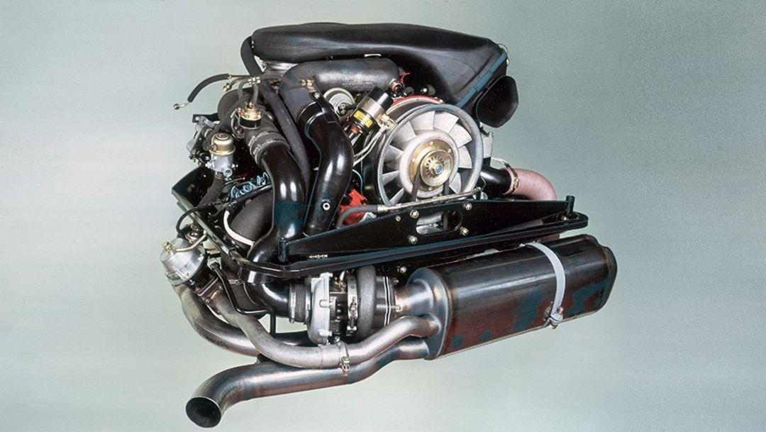 911 Turbo 3.3 (930) engine, 2014, Porsche AG