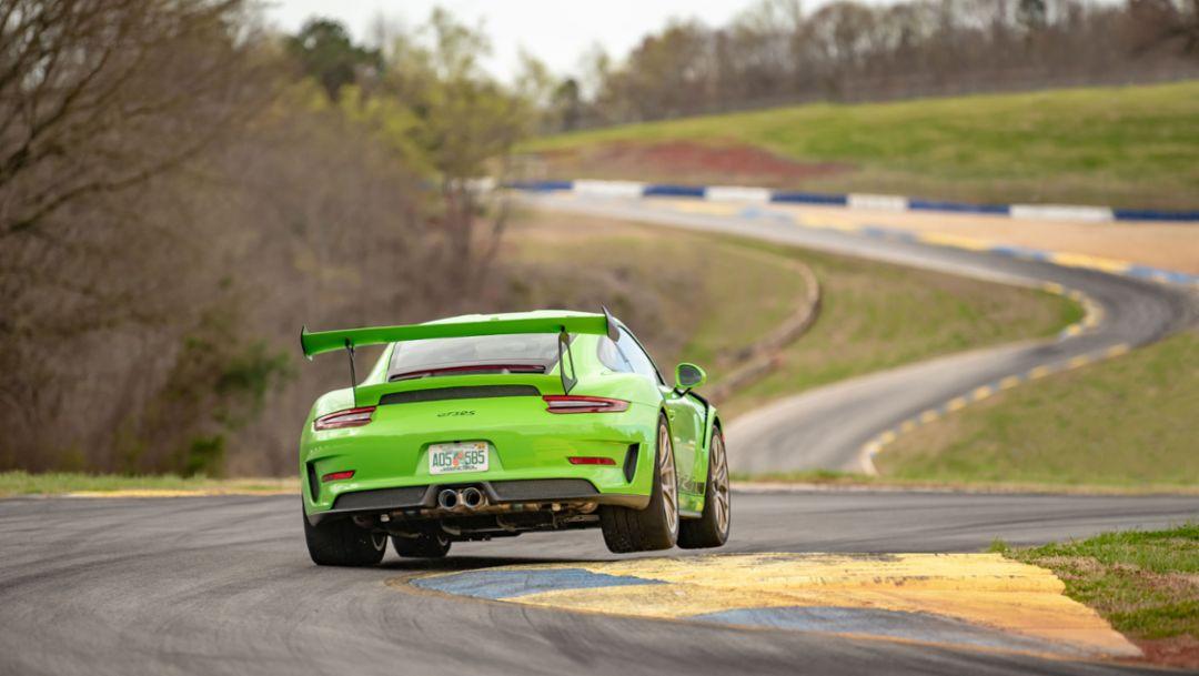 Porsche 911 Gt2 Rs Sets Production Car Lap Record At Michelin