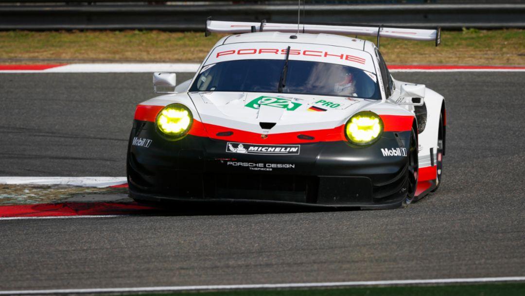 911 RSR, WEC, Qualifying, Shanghai, 2017, Porsche AG