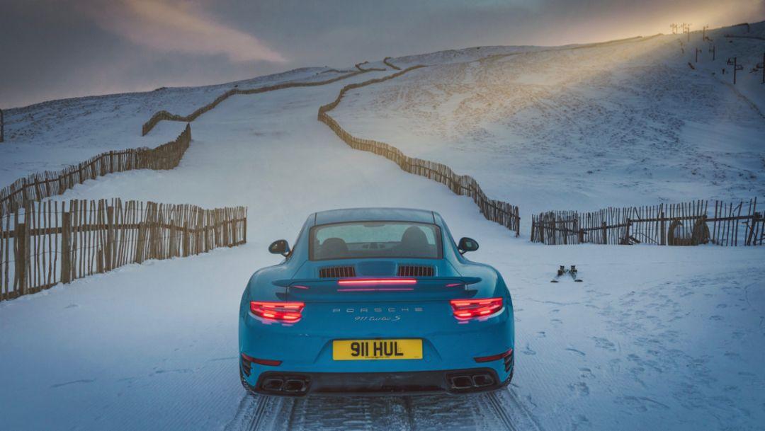 911 Turbo S, Glenshee Ski Centre, Scotland, 2018, Porsche AG
