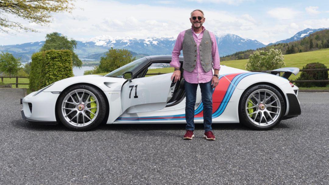 Benno Oertig, 918 Spyder, 2017, Porsche AG