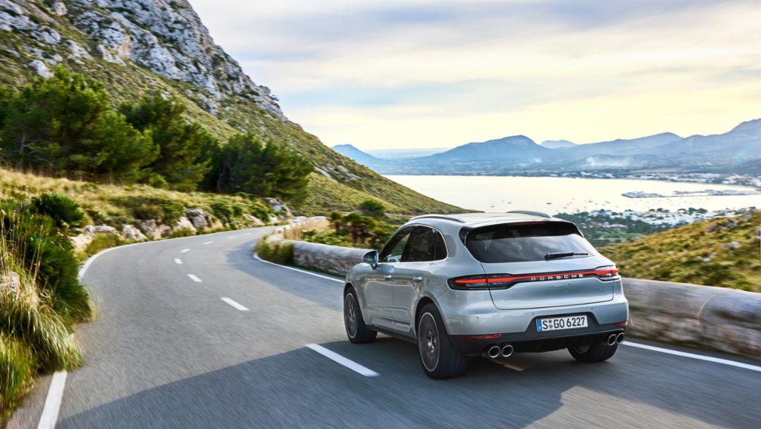 Премьера Porsche Macan S