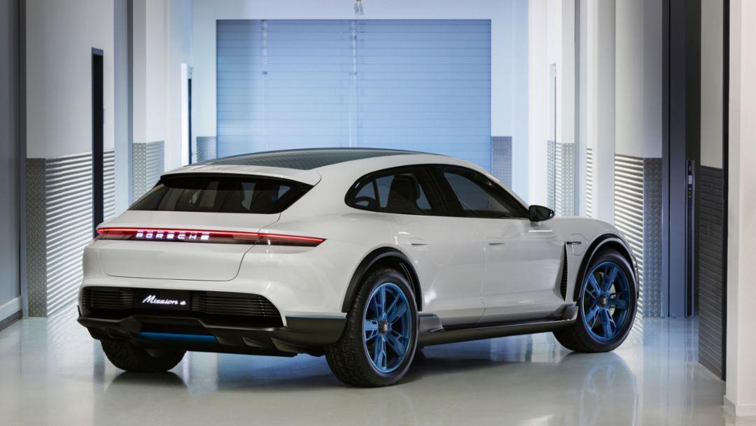 Mission E Cross Turismo, 2018, Porsche AG