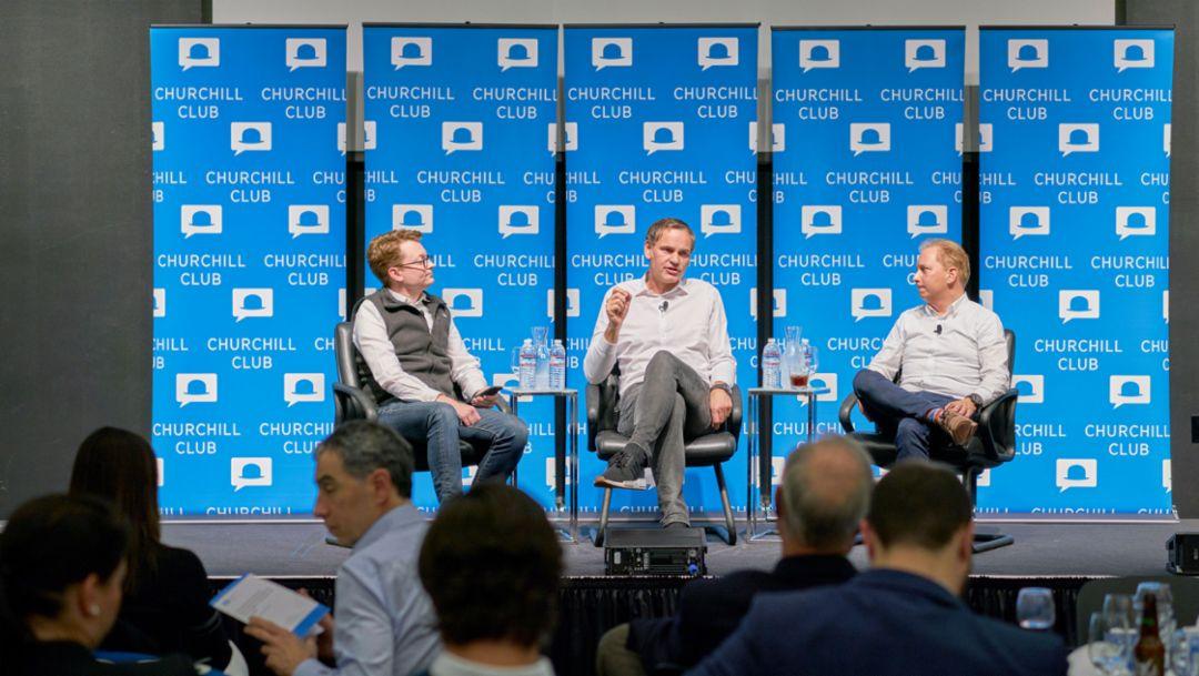 Porsche präsentiert sich im Silicon Valley