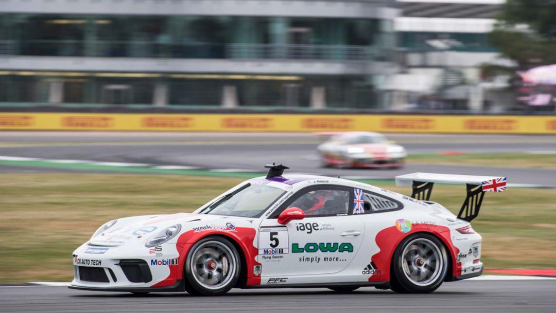 911 GT3 Cup, Porsche Mobil 1 Supercup, Silverstone, Großbritannien, 2017, Porsche AG