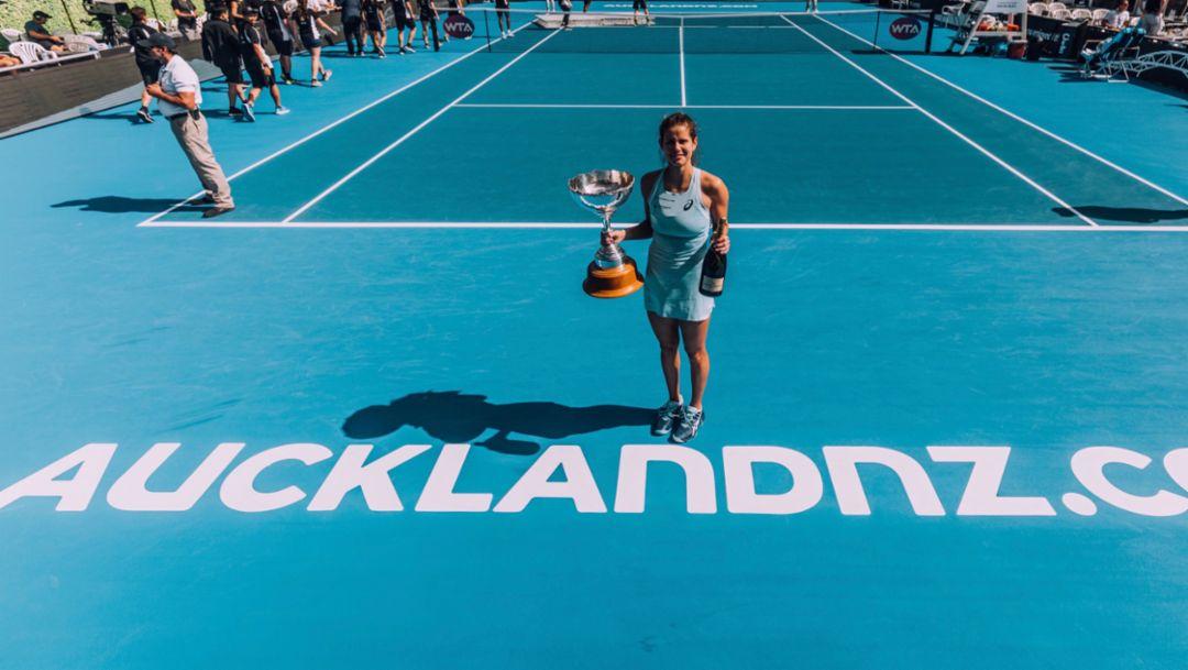 Julia Görges, WTA, Auckland, 2018, Porsche AG