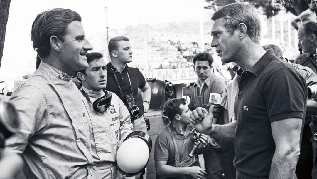 Steve McQueen, 1965, Porsche AG