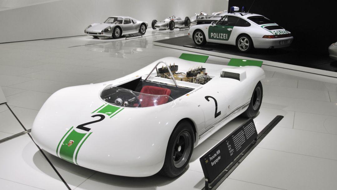 Porsche 909 Bergspyder, Porsche Museum, 2019, Porsche AG