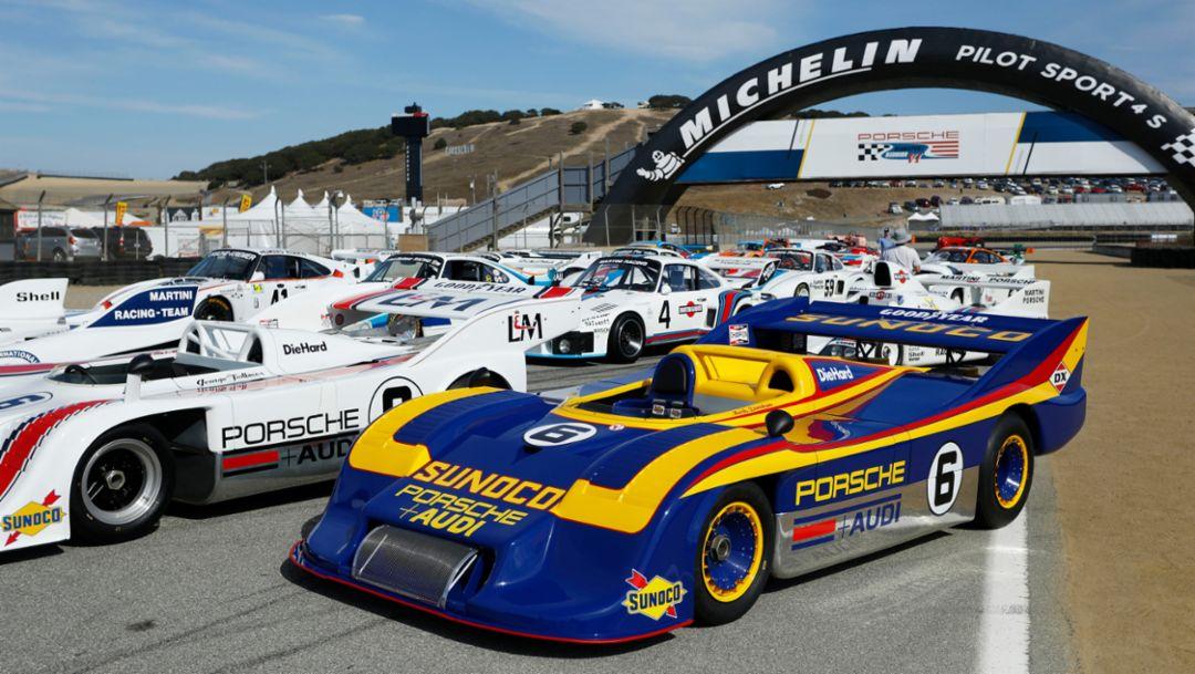 917/30 Spyder, Rennsport Reunion VI, WeatherTech Raceway Laguna Seca, California, 2018, Porsche AG