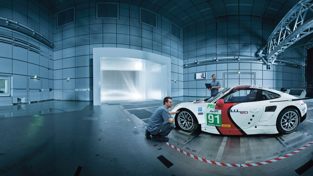 Top secret: Weissach wind tunnel