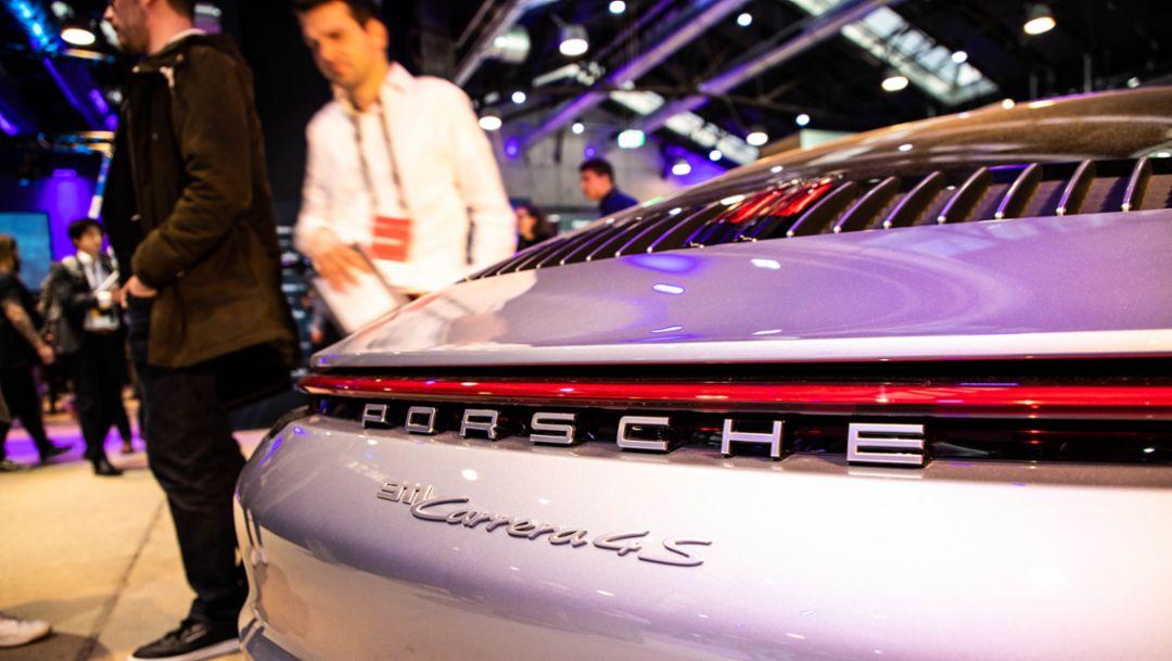 911 Carrera 4S, мероприятие Expo Day на Startup Autobahn, Штутгарт, 2019, Porsche AG
