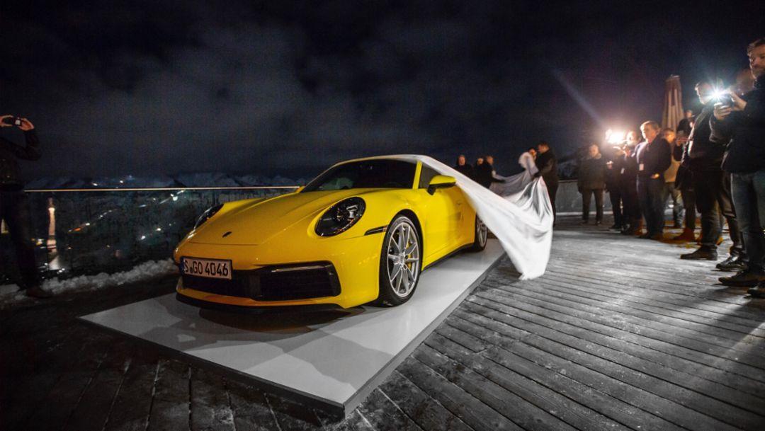 911 Carrera S, Areit-Alm, 2019, Porsche AG