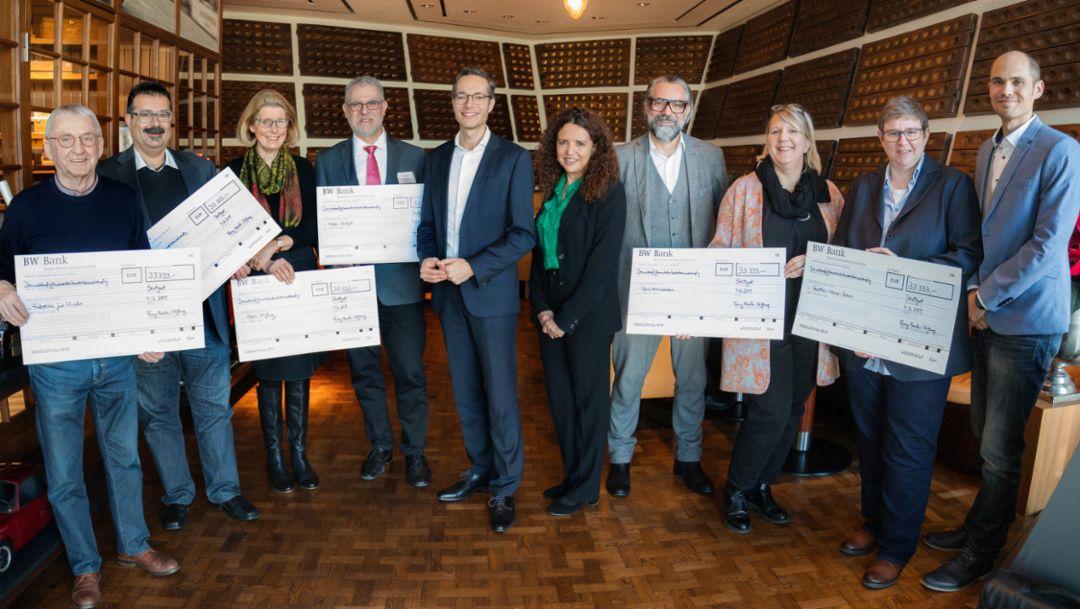 Ferry-Porsche-Stiftung fördert regionale Projekte mit 200.000 Euro