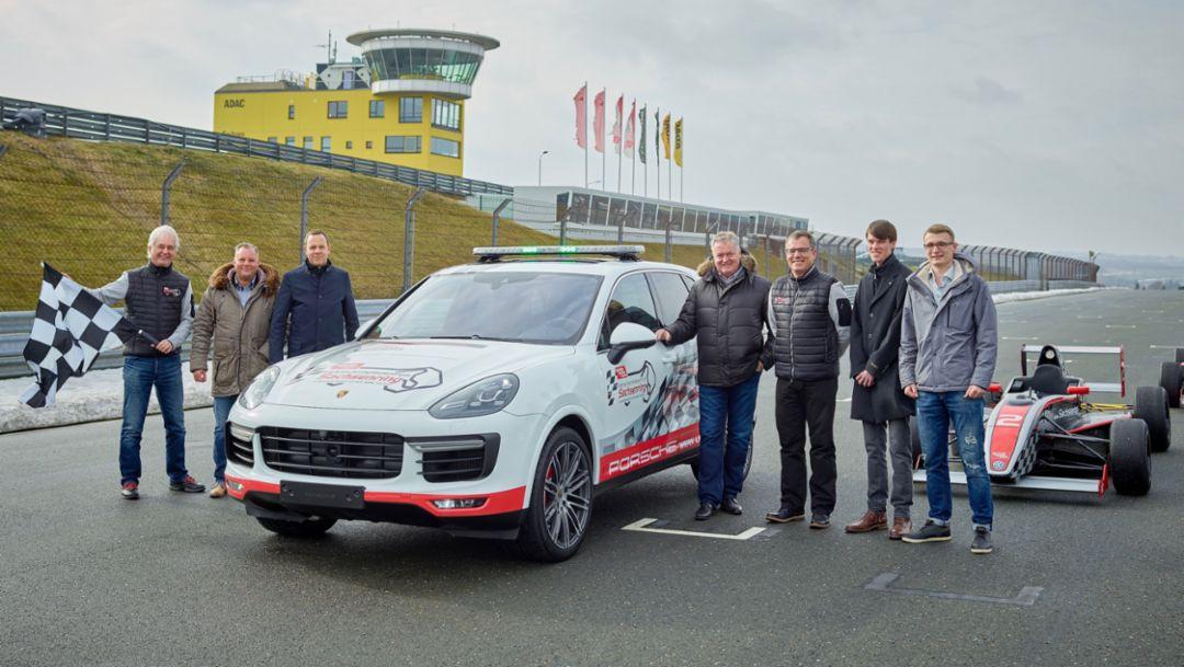 Cayenne Turbo, Sachsenring, Übergabe, 2017, Porsche