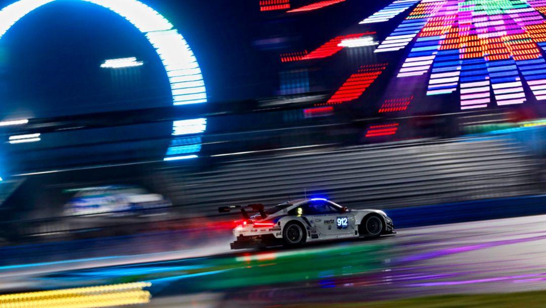 911 RSR, IMSA, Daytona, 2019, Porsche AG