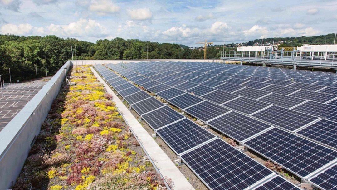 Солнечные панели, 2019, Porsche AG