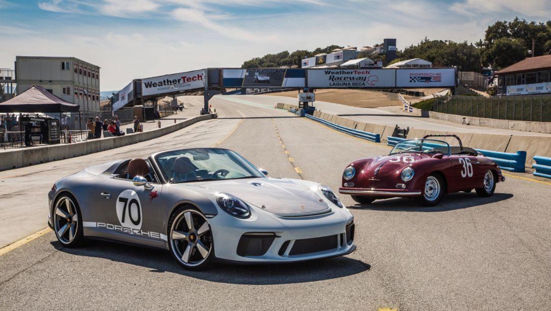 911 Speedster Concept fasziniert US-Publikum