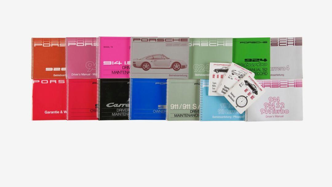 Porsche reimprime los manuales de sus vehículos clásicos