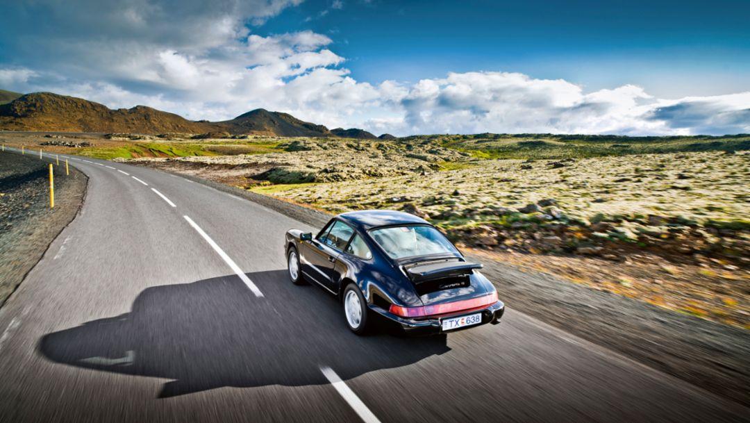 Porsche 911 Carrera 4, Island, 2016, Porsche AG
