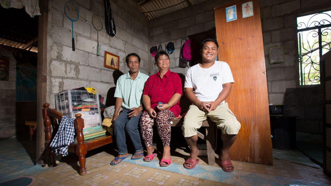 Jayson Supan's family, 2016, Porsche AG