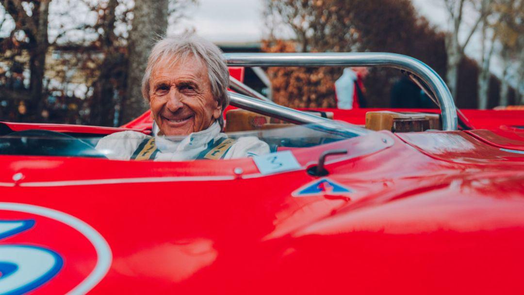 Derek Bell, 77. Goodwood Members Meeting, Großbritannien, 2019, Porsche AG