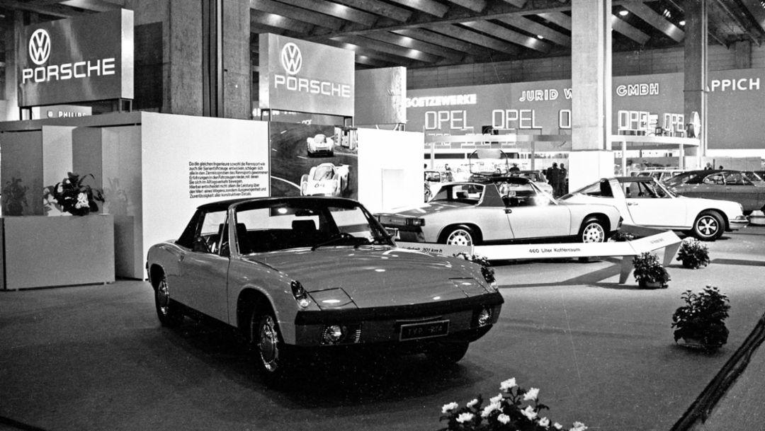 Porsche 914 исполнилось 50 лет