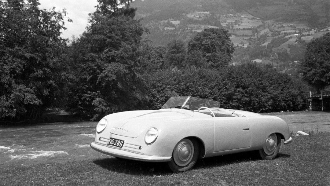 356 Nr. 1 Roadster, Gmünd, 1948, Porsche AG