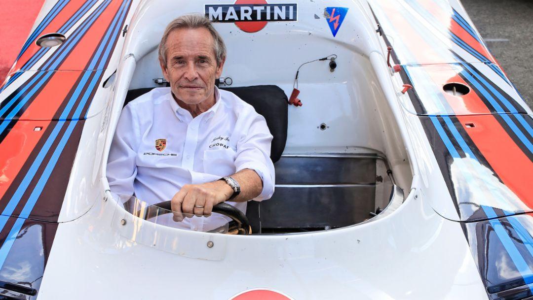Jacky Ickx, Motorsport-Legende, Rennsport Reunion VI, WeatherTech Raceway Laguna Seca, California, 2018, Porsche AG