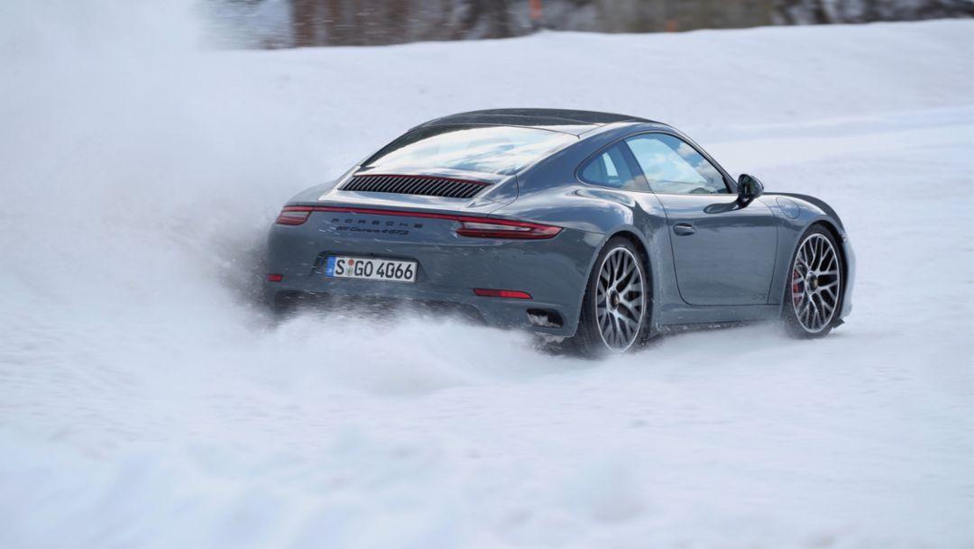 911 Carrera 4 GTS, Porsche Driving Experience, Salzburg, 2018, Porsche AG