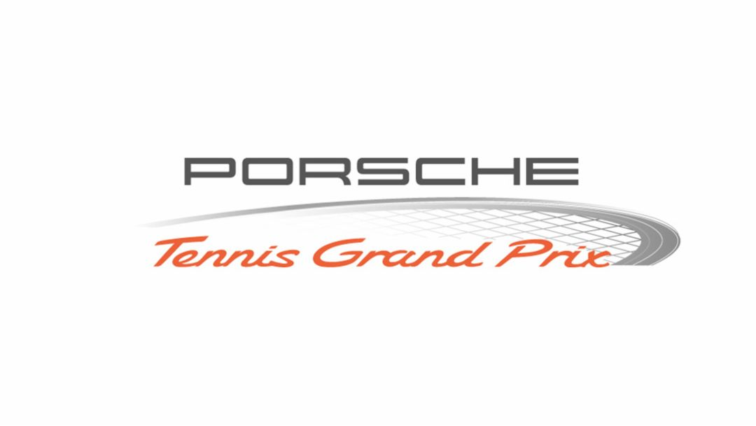 Logo Porsche Tennis Grand Prix, 2014, Porsche AG