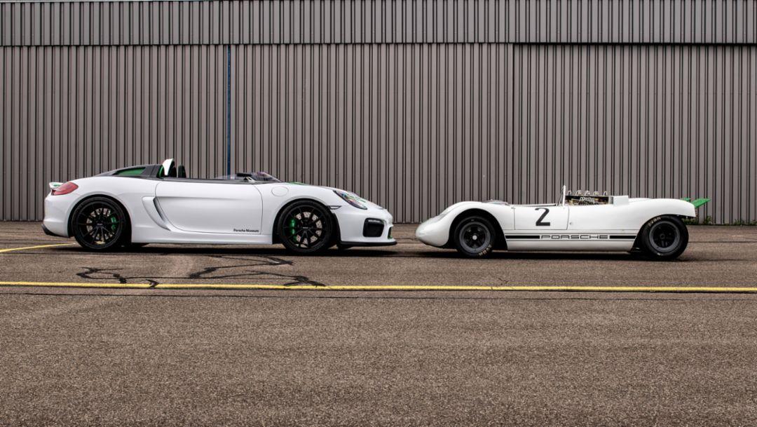 Boxster Bergspyder, Porsche 909, 2019, Porsche AG
