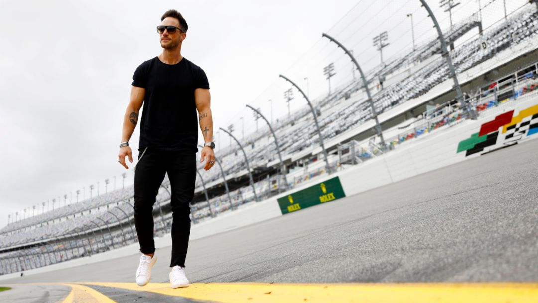 Daniel Fuchs aka Magic Fox, Blogger und Influencer, Daytona, 2018, Porsche AG