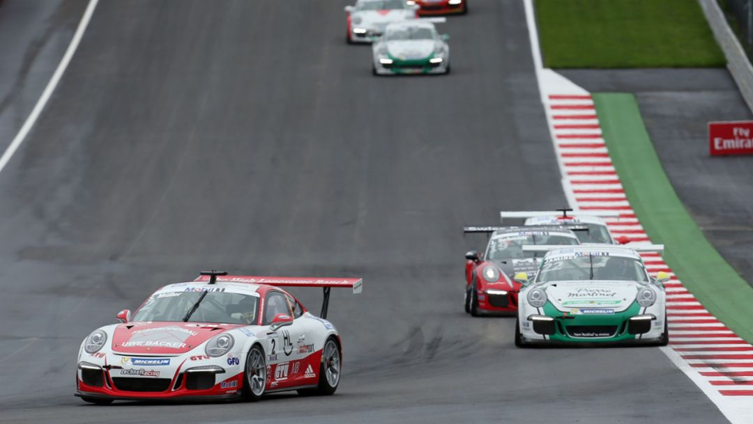 911 GT3 Cup, Porsche Mobil 1 Supercup, Spielberg, 2016, Porsche AG